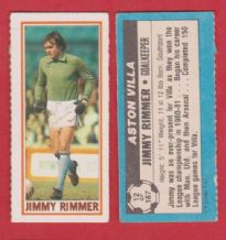 Aston Villa Jimmy Rimmer 12